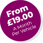 From £19 a month per vehicle
